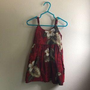 12 month Hawaiian dress for baby girl